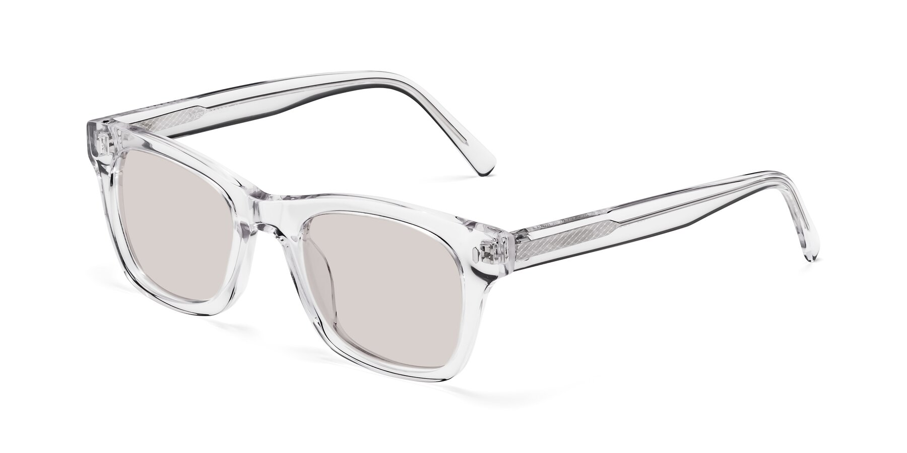 Angle of 17329 in Clear with Light Brown Tinted Lenses