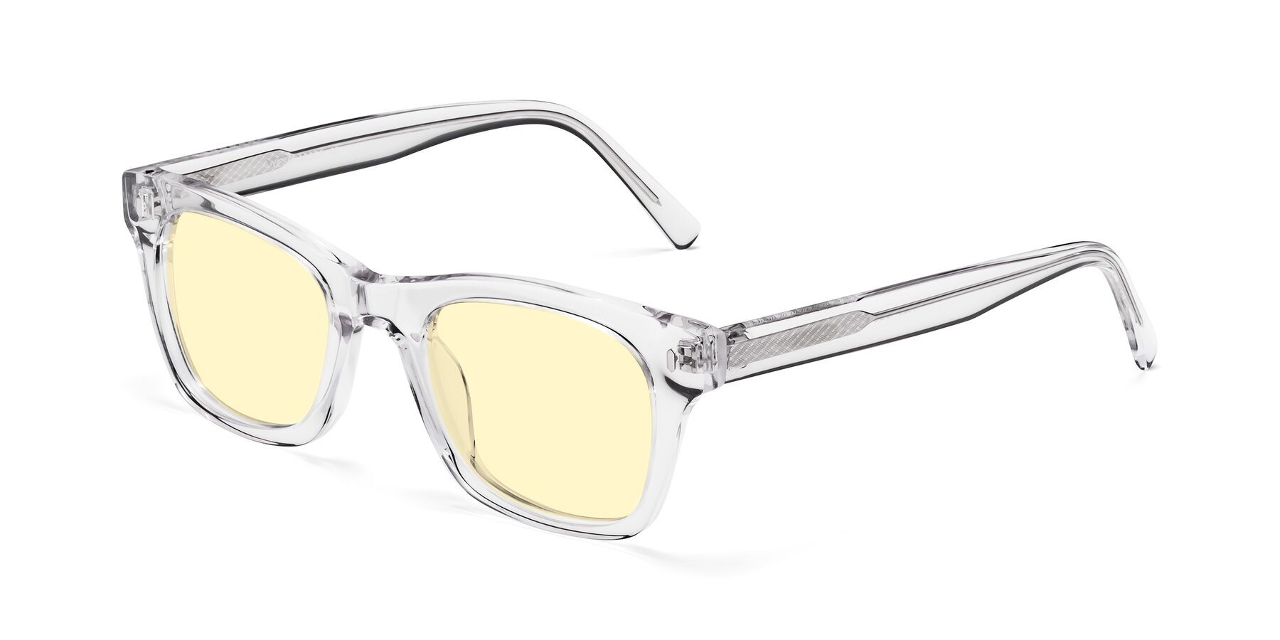 Angle of 17329 in Clear with Light Yellow Tinted Lenses