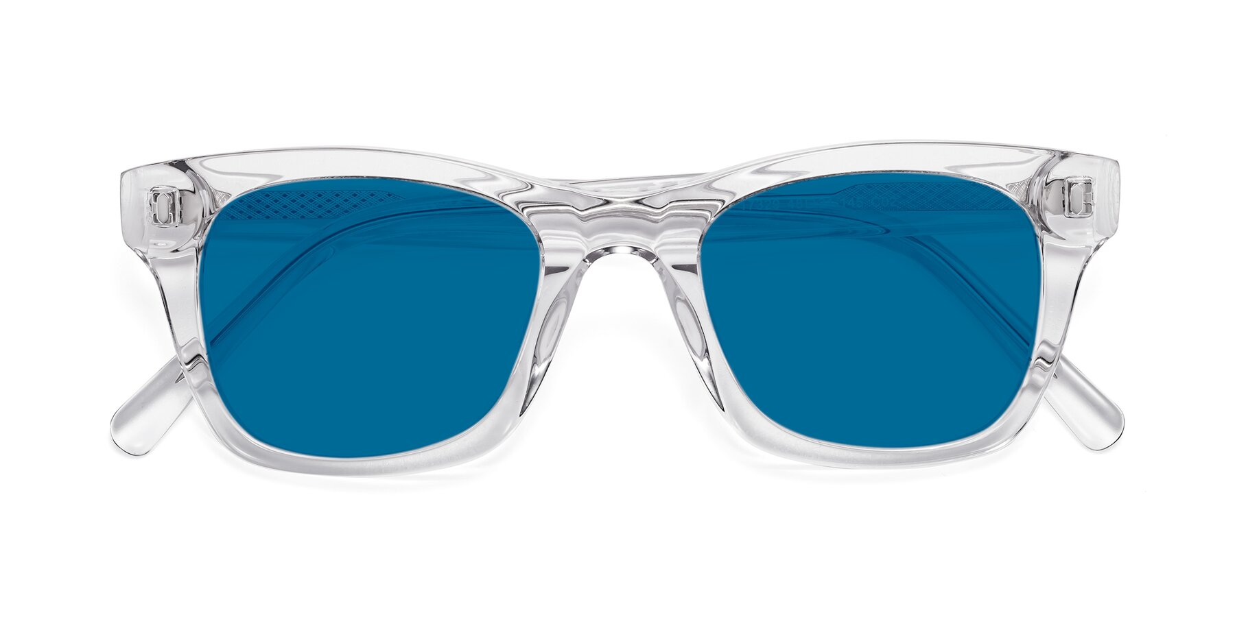 Folded Front of 17329 in Clear with Blue Tinted Lenses