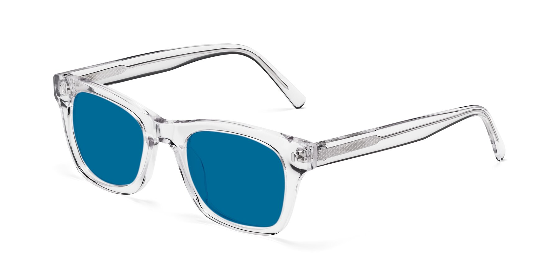 Angle of 17329 in Clear with Blue Tinted Lenses