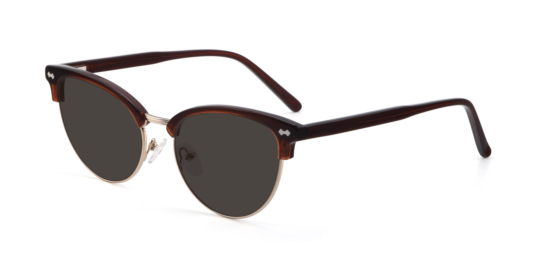 Angle of 17461 in Tortoise-Black with Gray Tinted Lenses