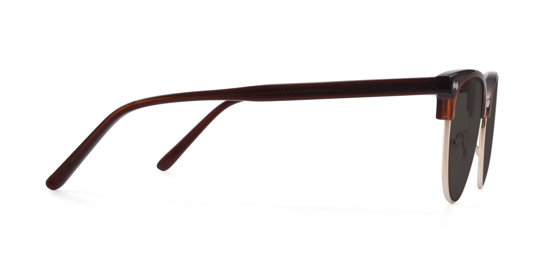 Side of 17461 in Tortoise-Black with Gray Tinted Lenses