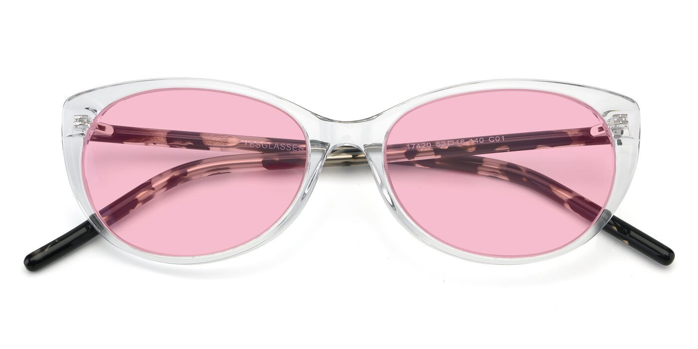 17420 - Clear Tinted Sunglasses