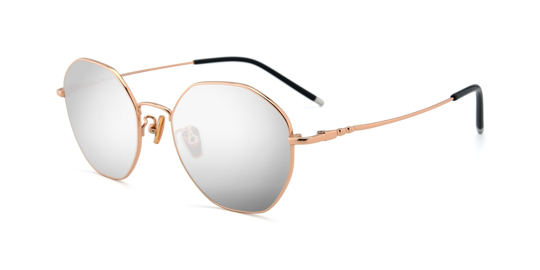 Angle of 90059 in Gold with Silver Mirrored Lenses