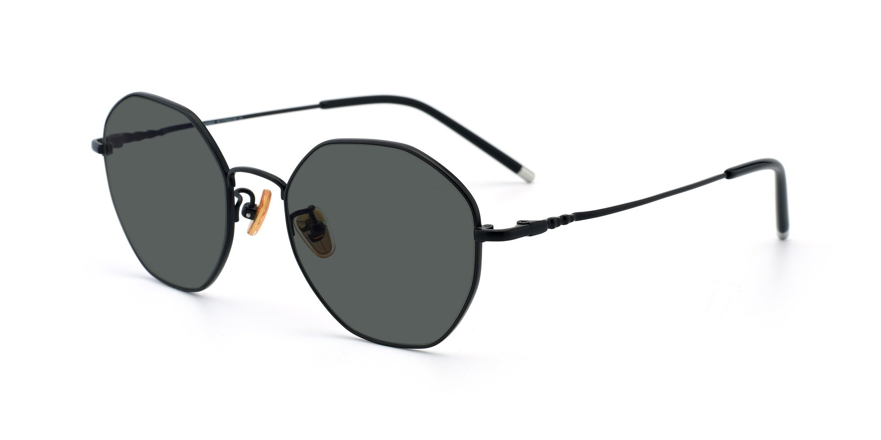 Angle of 90059 in Black with Gray Polarized Lenses