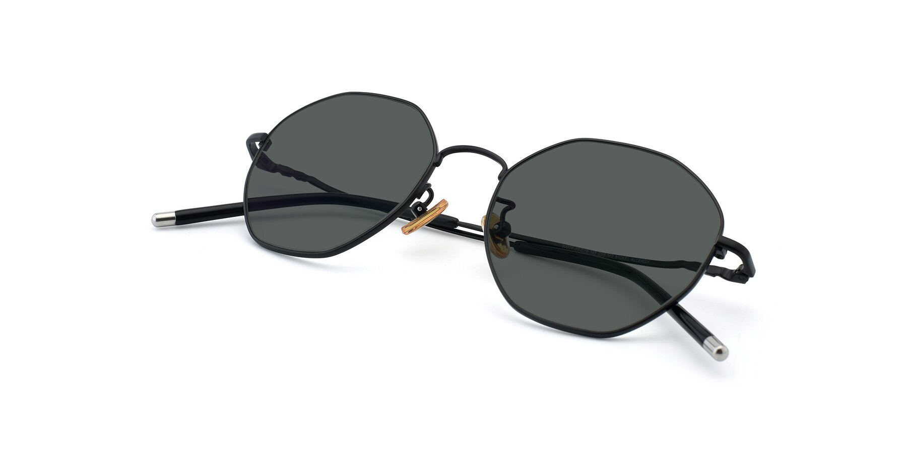 View of 90059 in Black with Gray Polarized Lenses