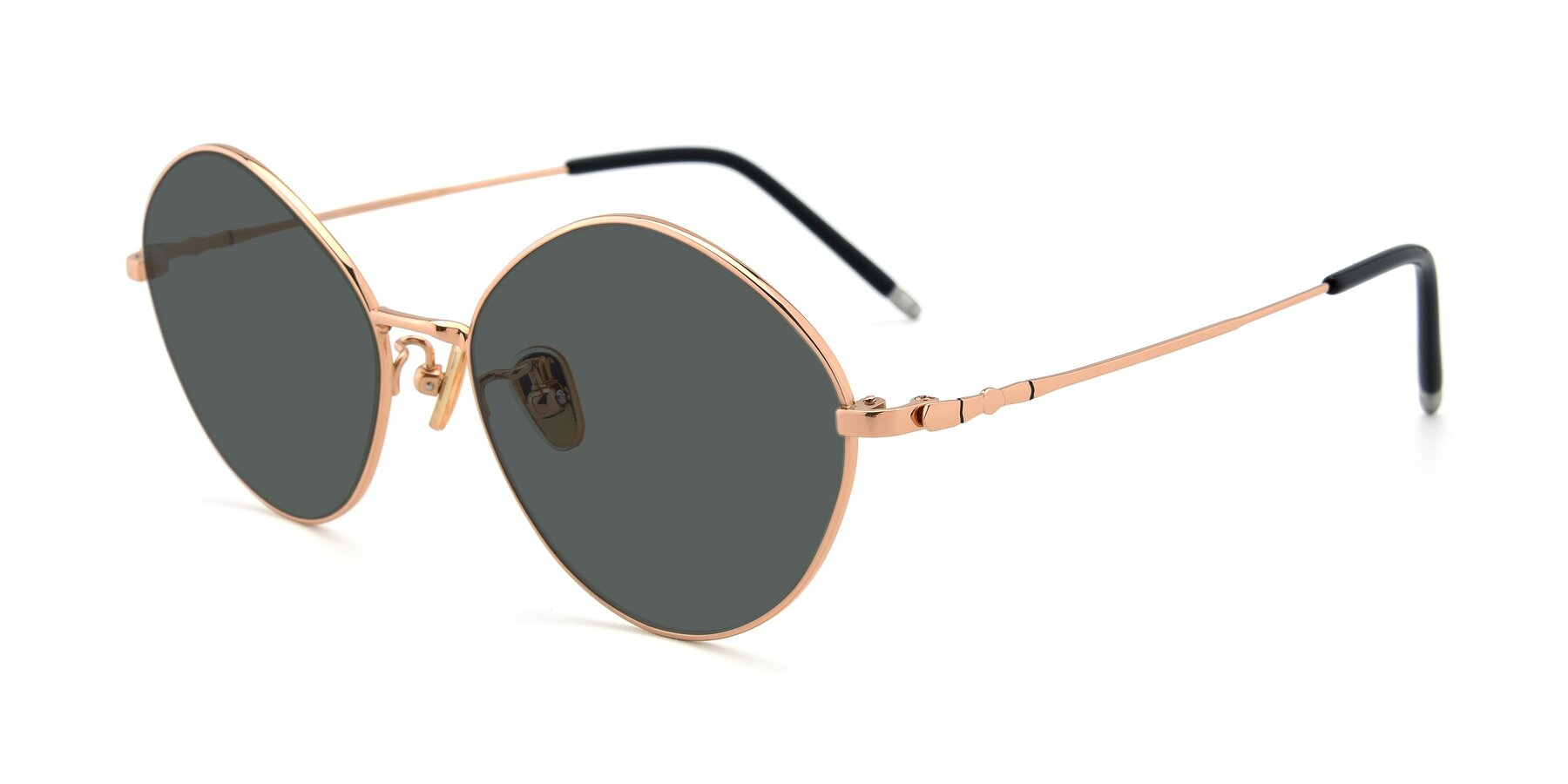 Angle of 90029 in Gold with Gray Polarized Lenses