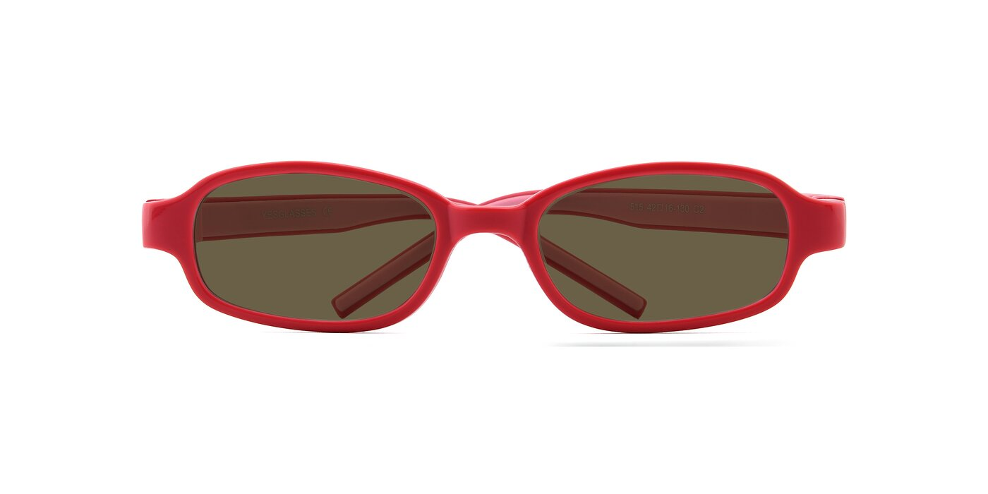 515 - Red / Pink Polarized Sunglasses
