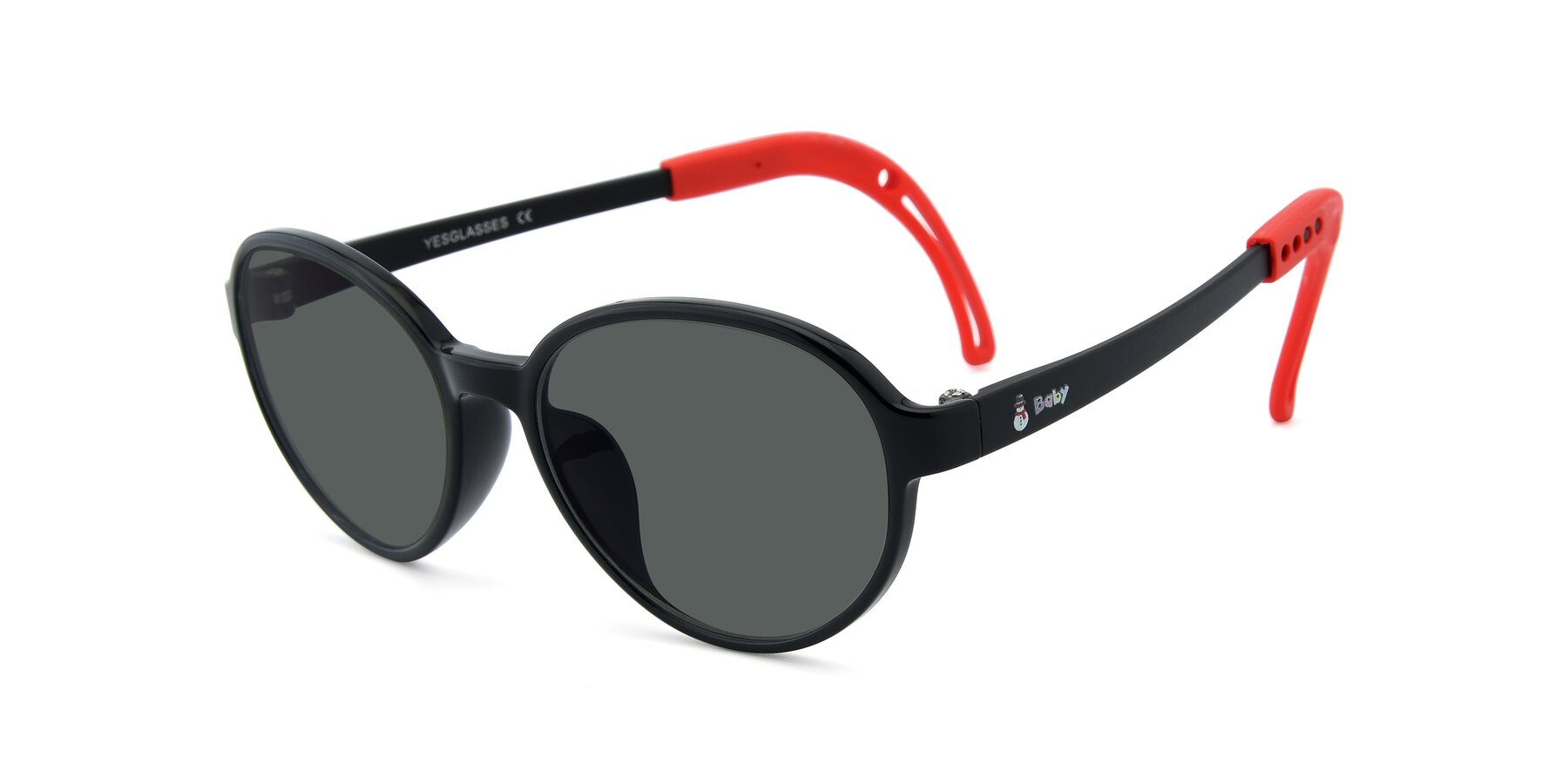 Angle of 1020 in Black-Red with Gray Polarized Lenses