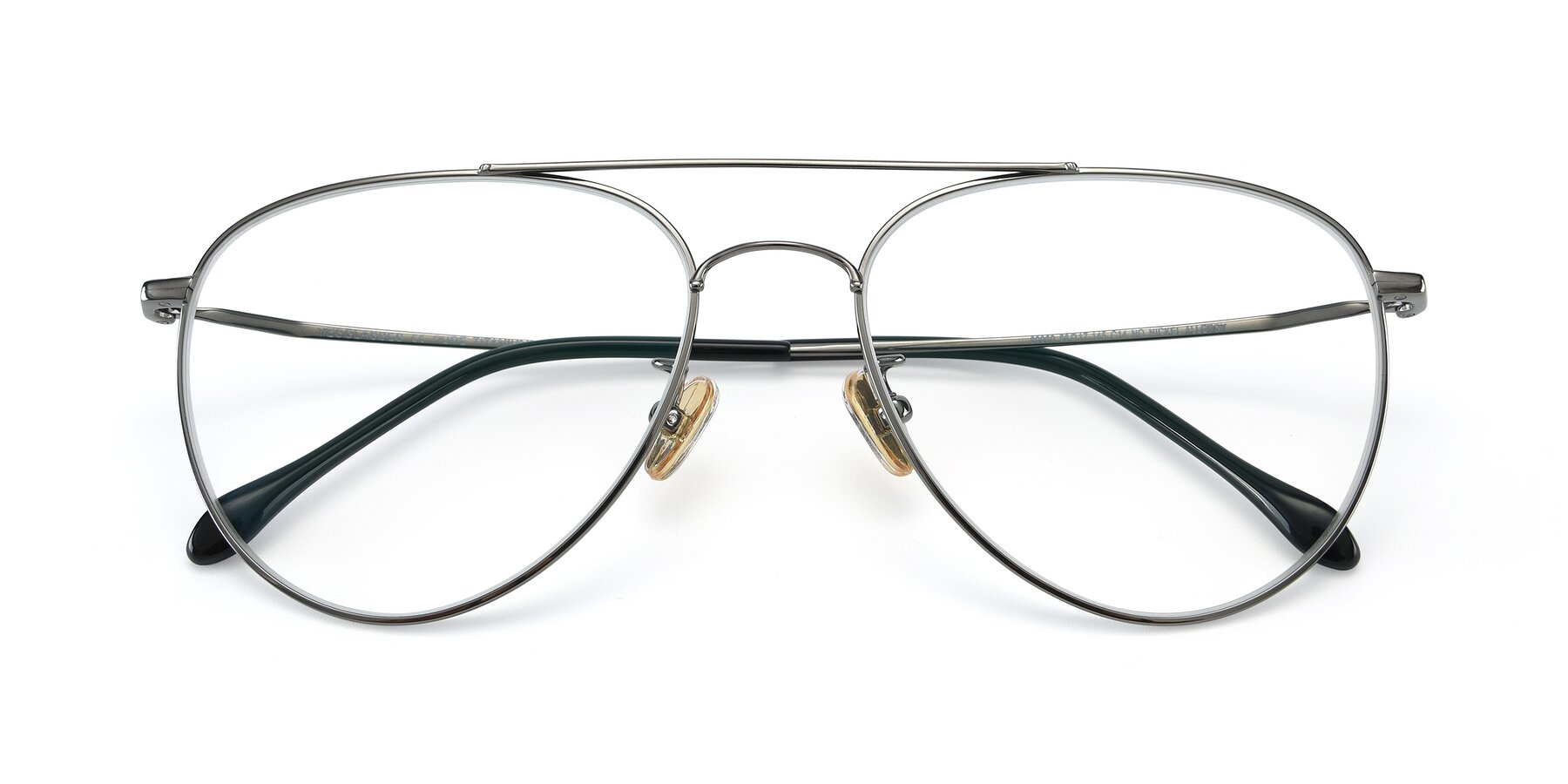 Folded Front of 80060 in Gun with Clear Eyeglass Lenses