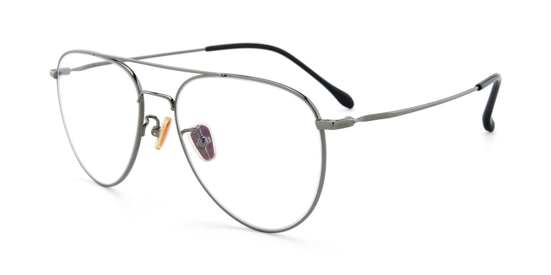 Angle of 80060 in Gun with Clear Eyeglass Lenses
