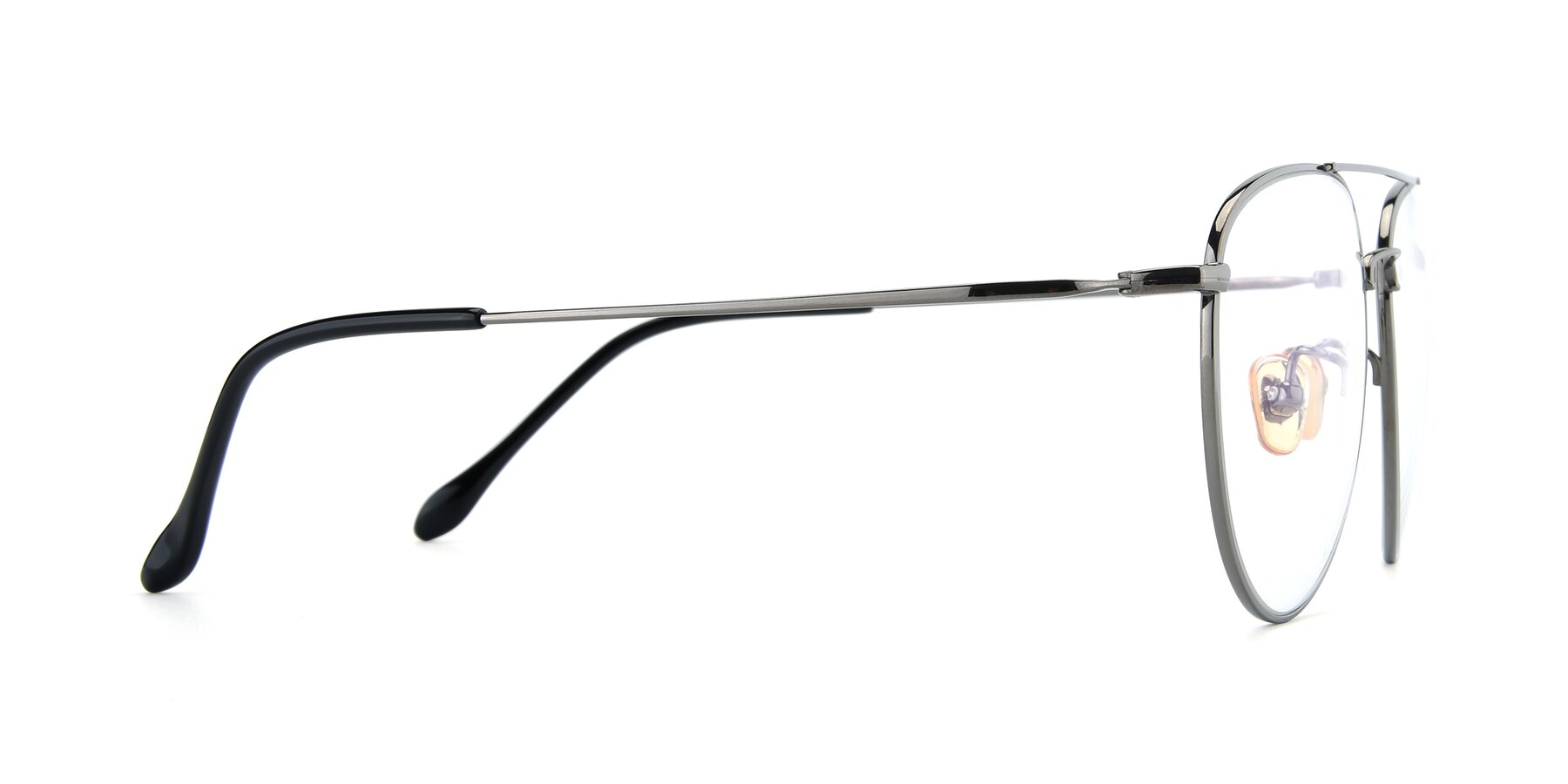Side of 80060 in Gun with Clear Eyeglass Lenses
