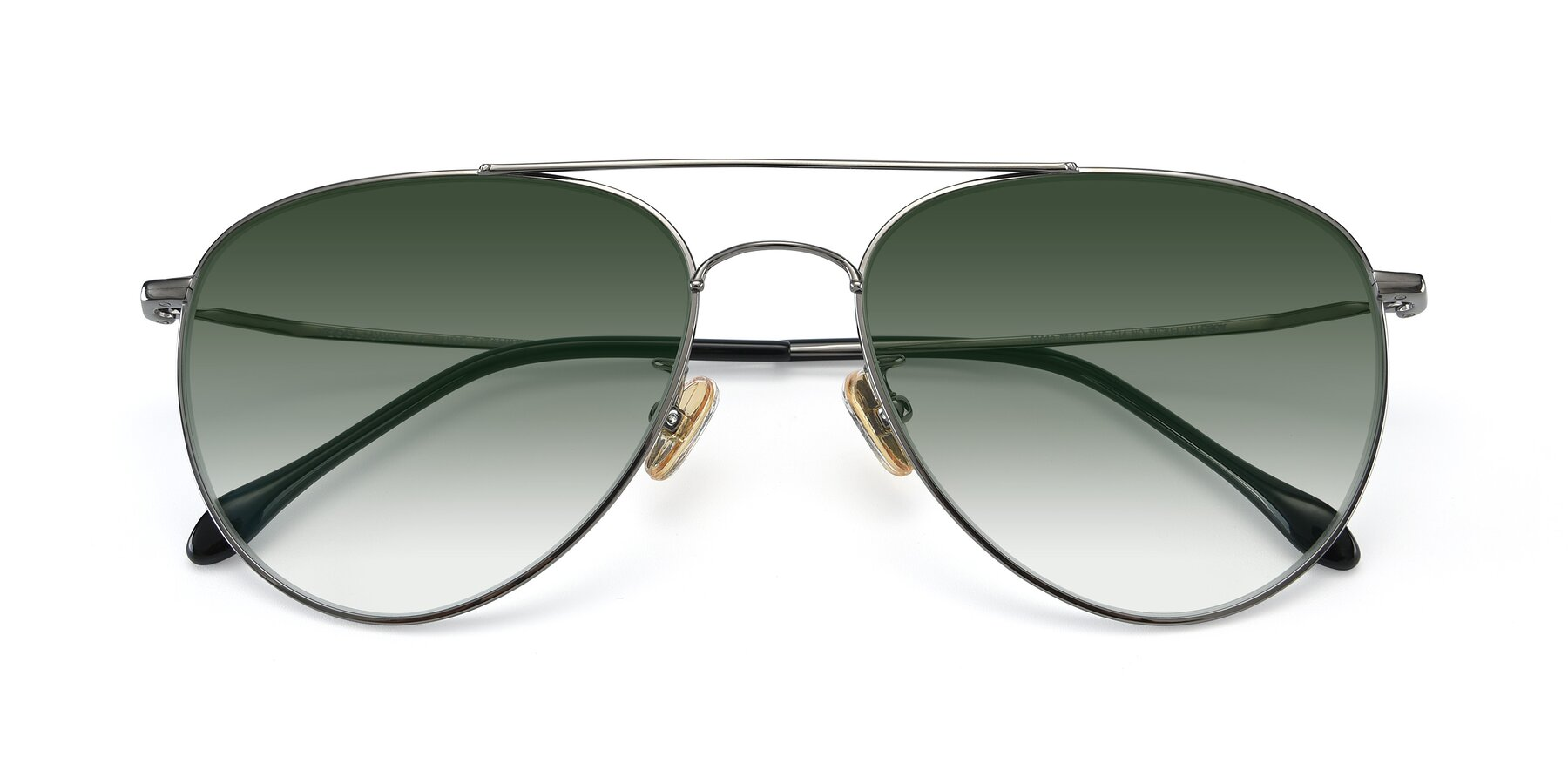 Folded Front of 80060 in Gun with Green Gradient Lenses