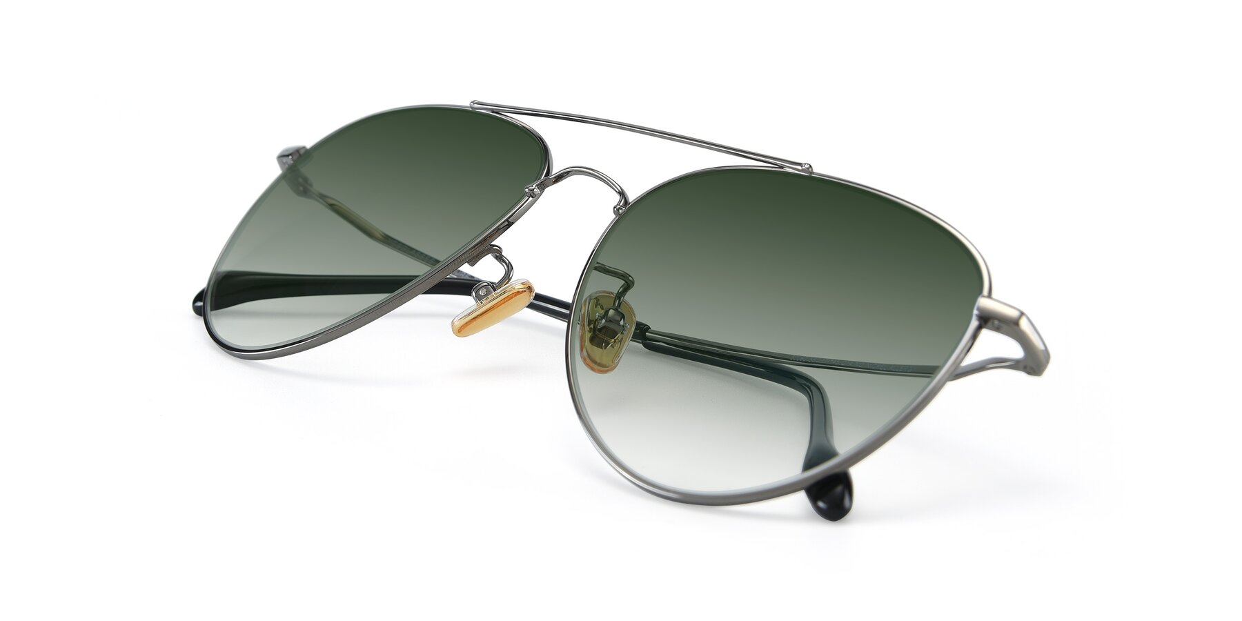 View of 80060 in Gun with Green Gradient Lenses