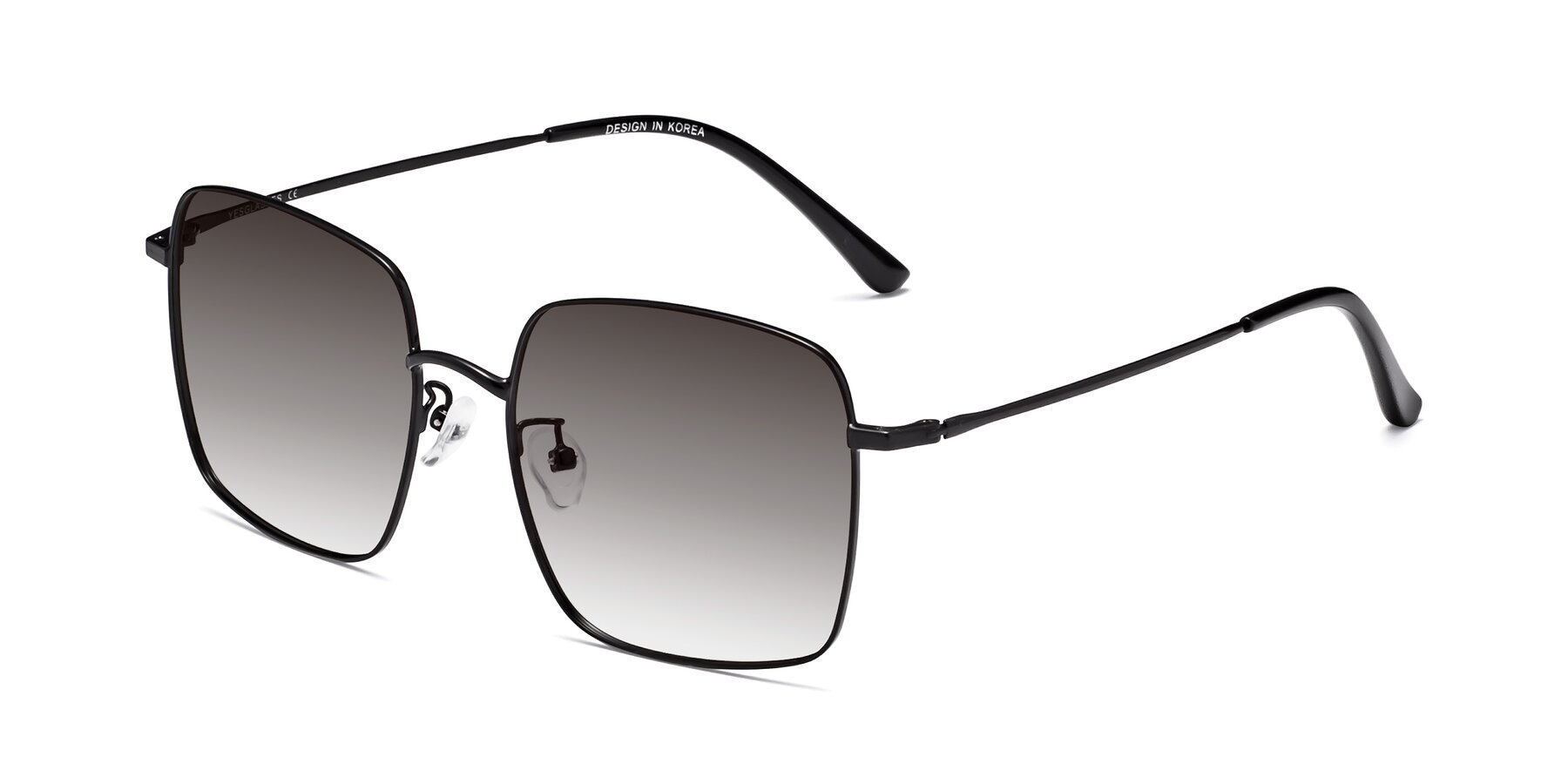 Angle of 18008 in Black with Gray Gradient Lenses
