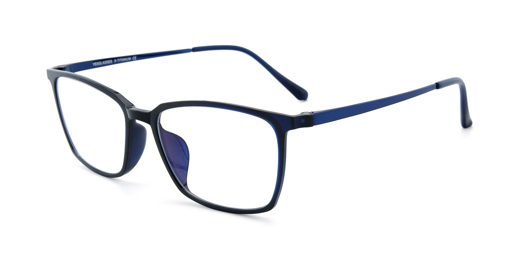 Angle of XC-5009 in Blue with Clear Blue Light Blocking Lenses