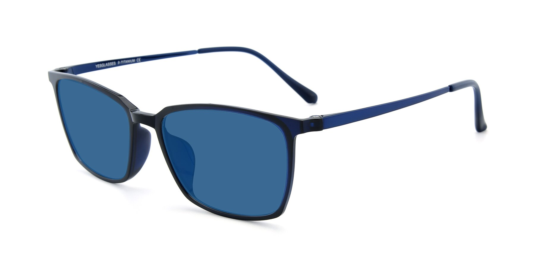 Angle of XC-5009 in Blue with Blue Tinted Lenses