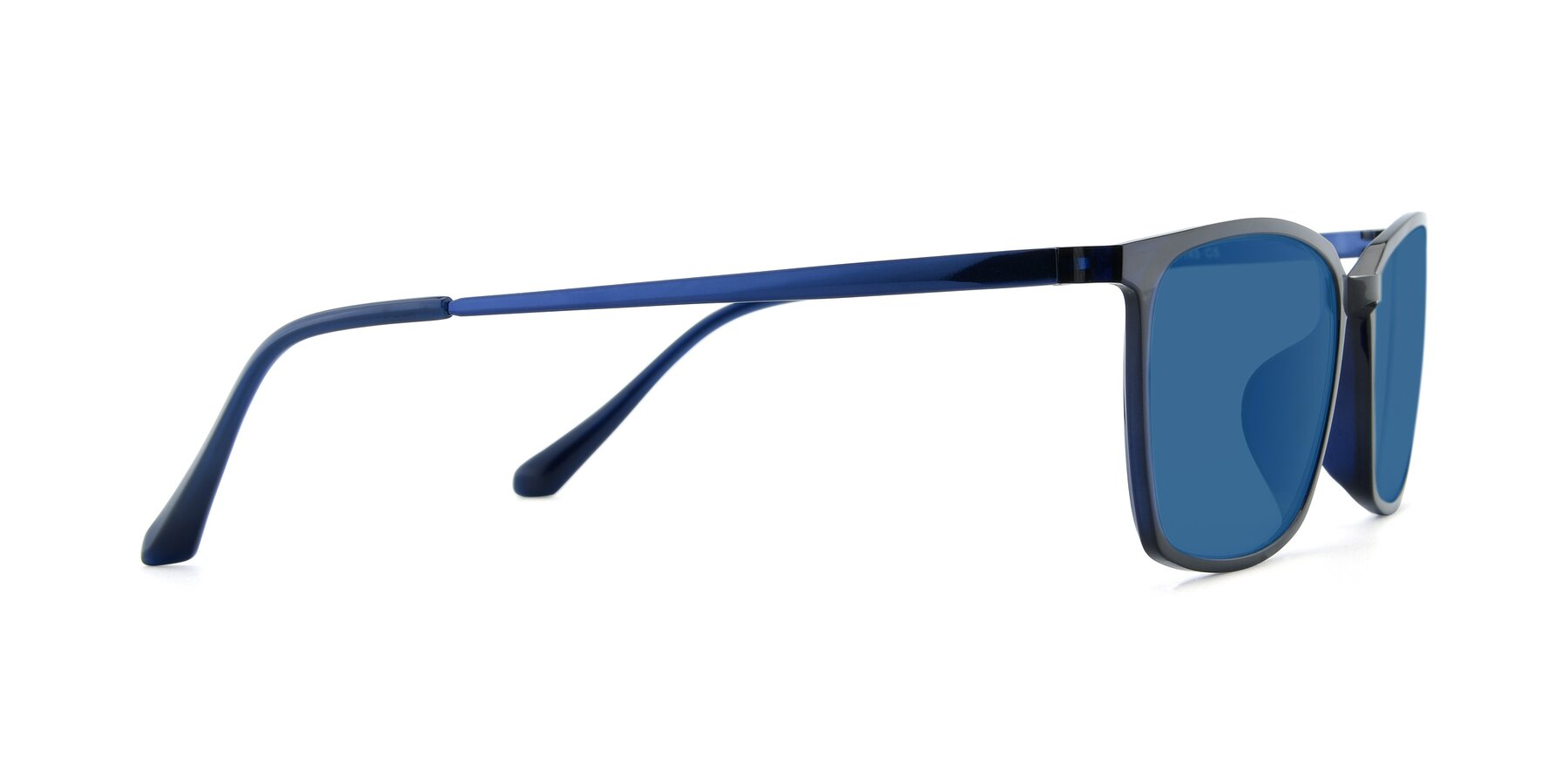 Side of XC-5009 in Blue with Blue Tinted Lenses