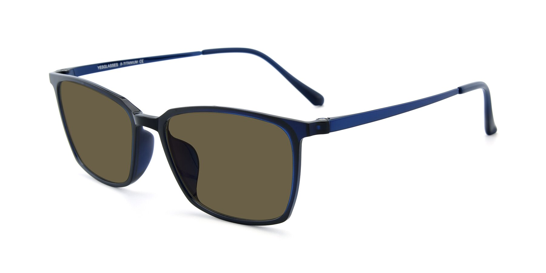 Angle of XC-5009 in Blue with Brown Polarized Lenses