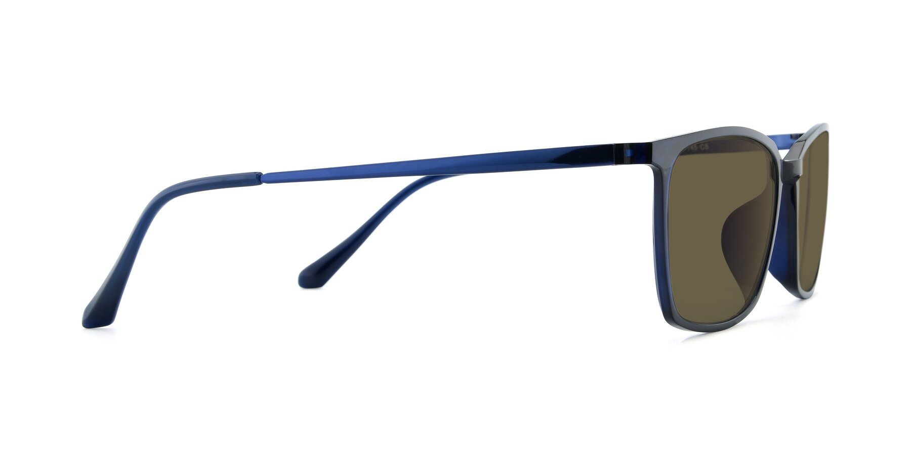 Side of XC-5009 in Blue with Brown Polarized Lenses