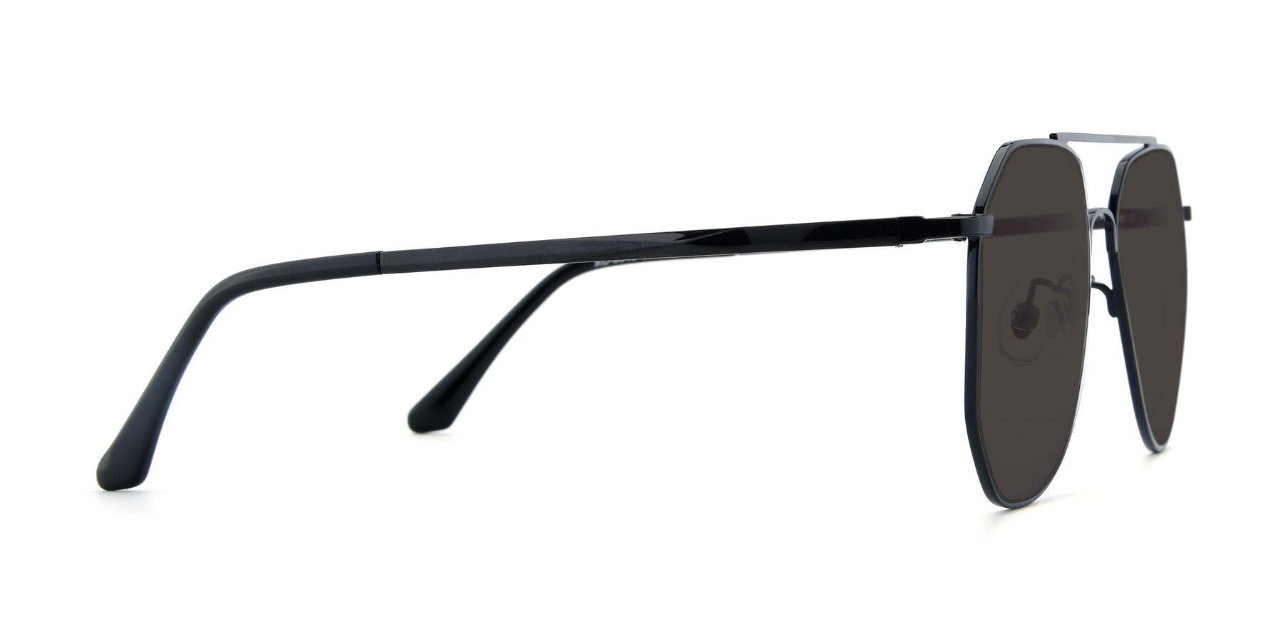 Side of XC-8040 in Black with Gray Tinted Lenses