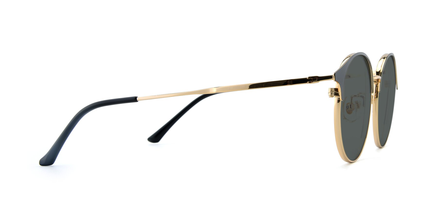 Side of XC-8031 in Black-Gold with Gray Polarized Lenses