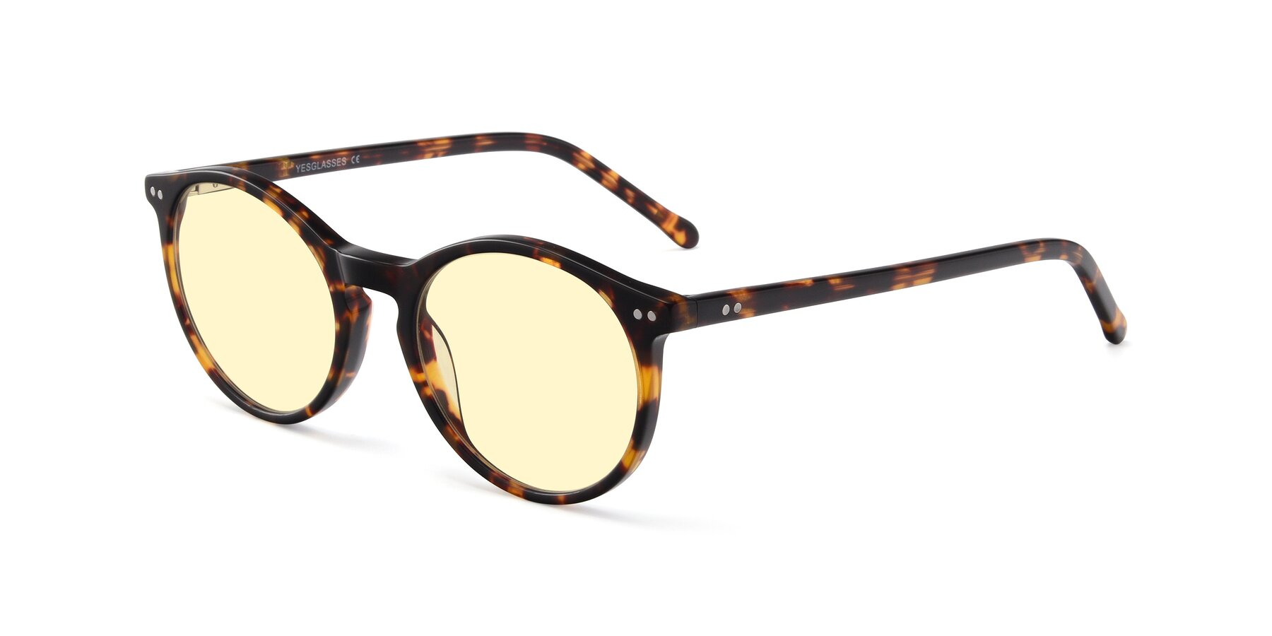 Angle of JS9026A in Tortoise with Light Yellow Tinted Lenses
