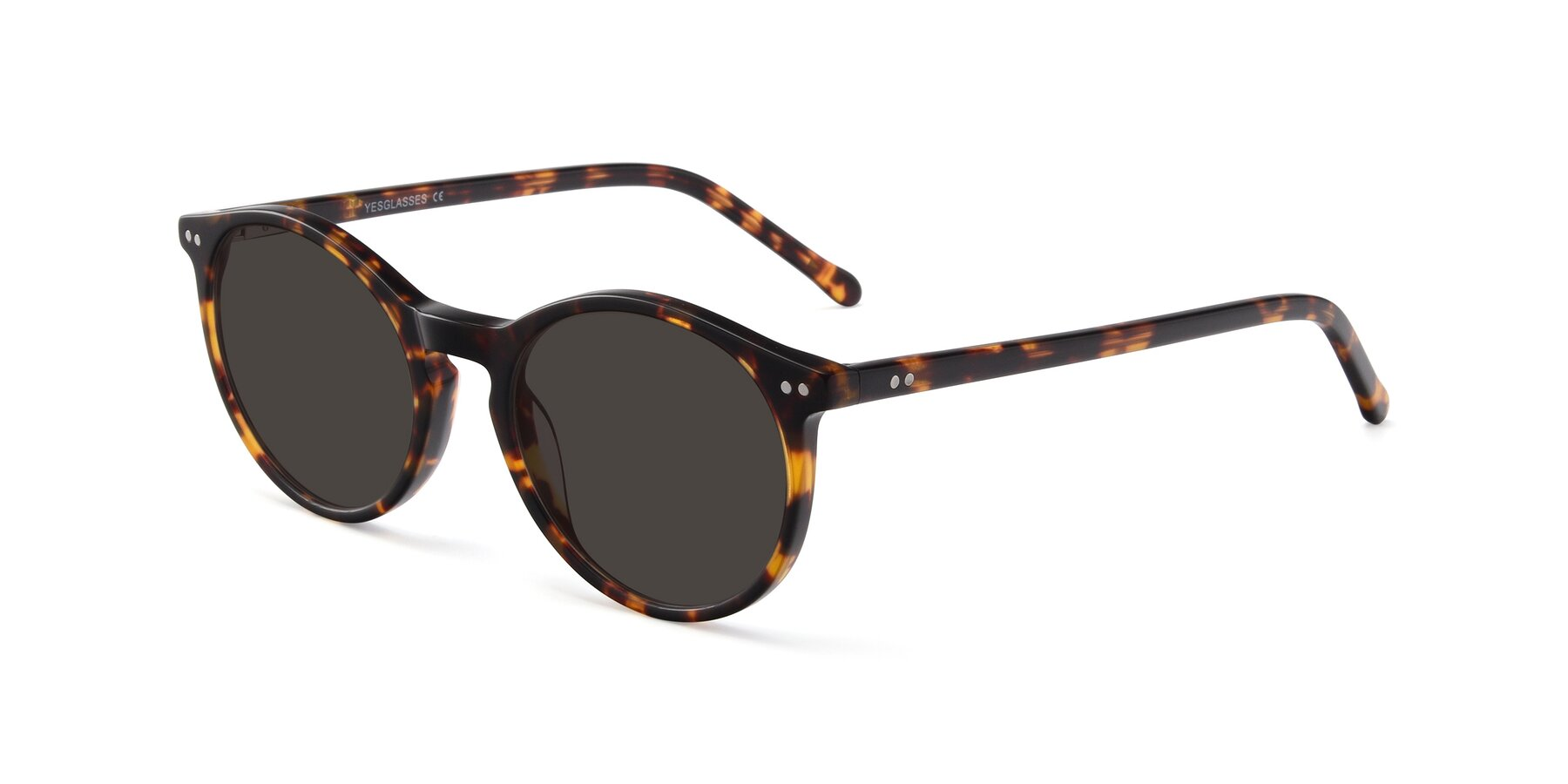 Angle of JS9026A in Tortoise with Gray Tinted Lenses
