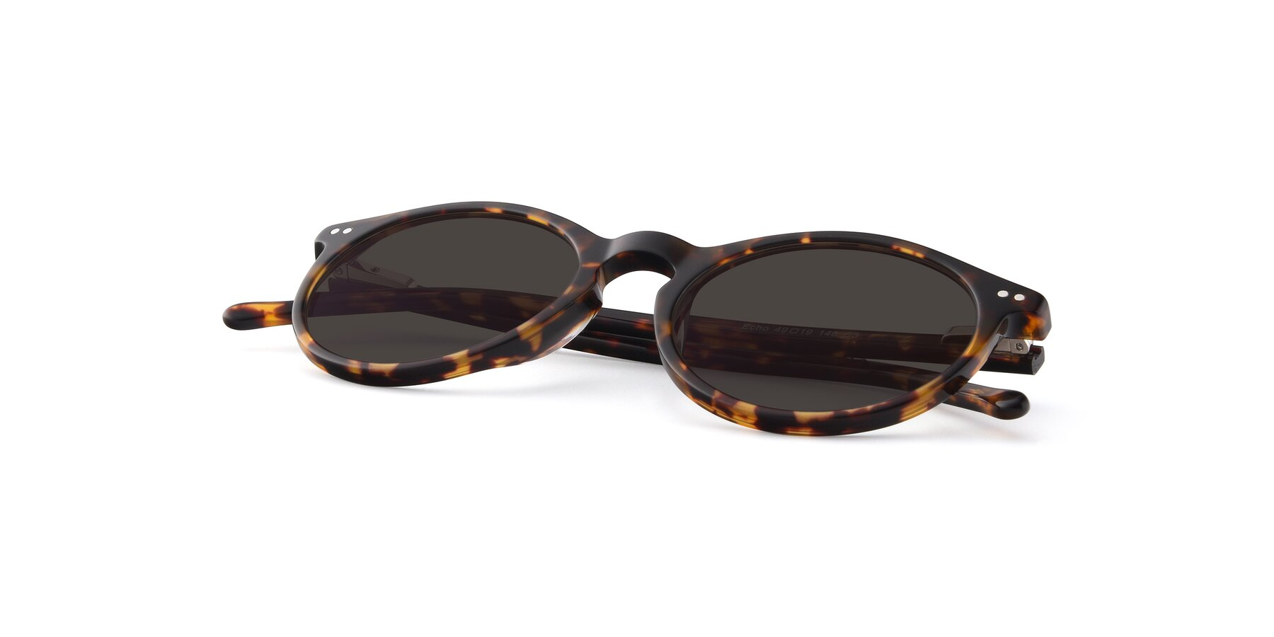 View of JS9026A in Tortoise with Gray Tinted Lenses