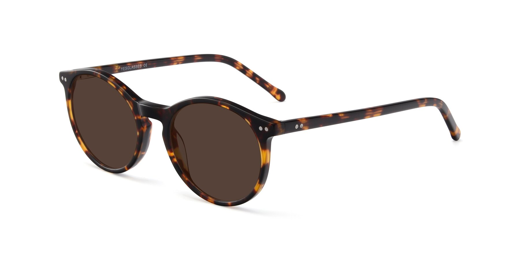 Angle of Echo in Tortoise with Brown Tinted Lenses