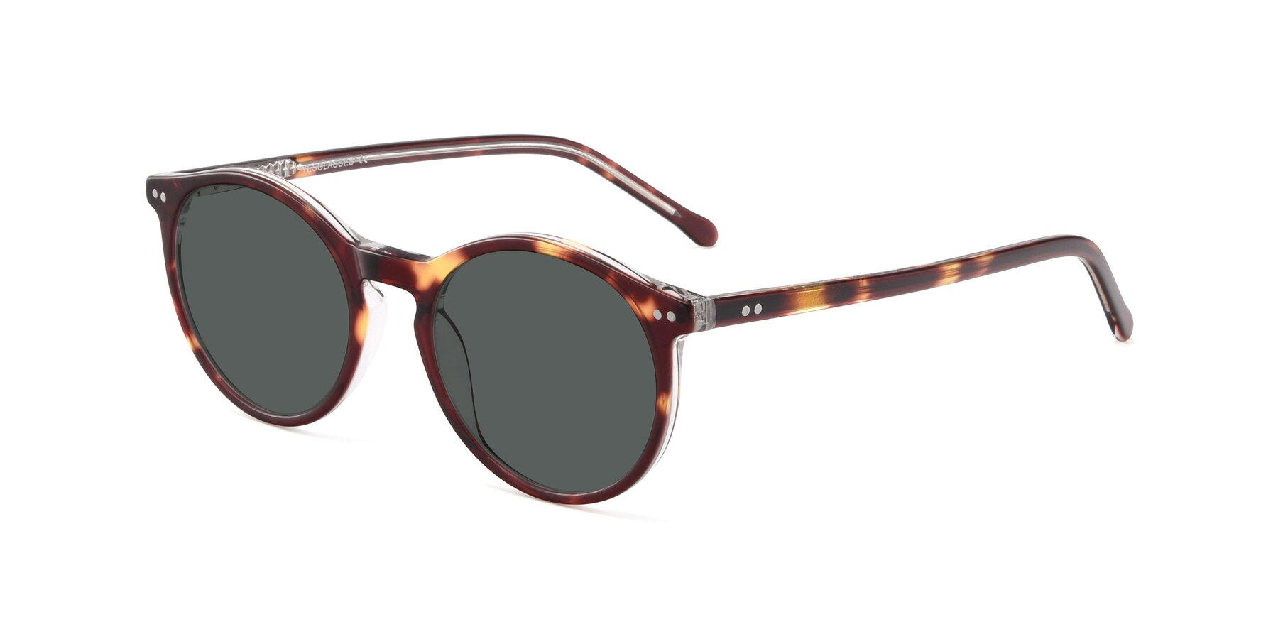 Angle of JS9026A in Tortoise-Clear with Gray Polarized Lenses