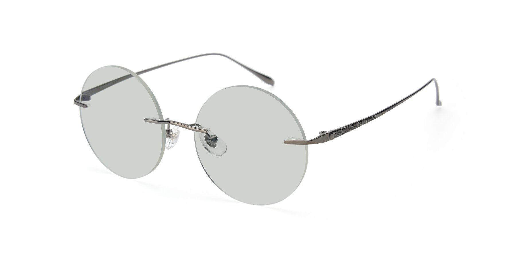 Angle of Sunrise in Gun with Light Green Tinted Lenses