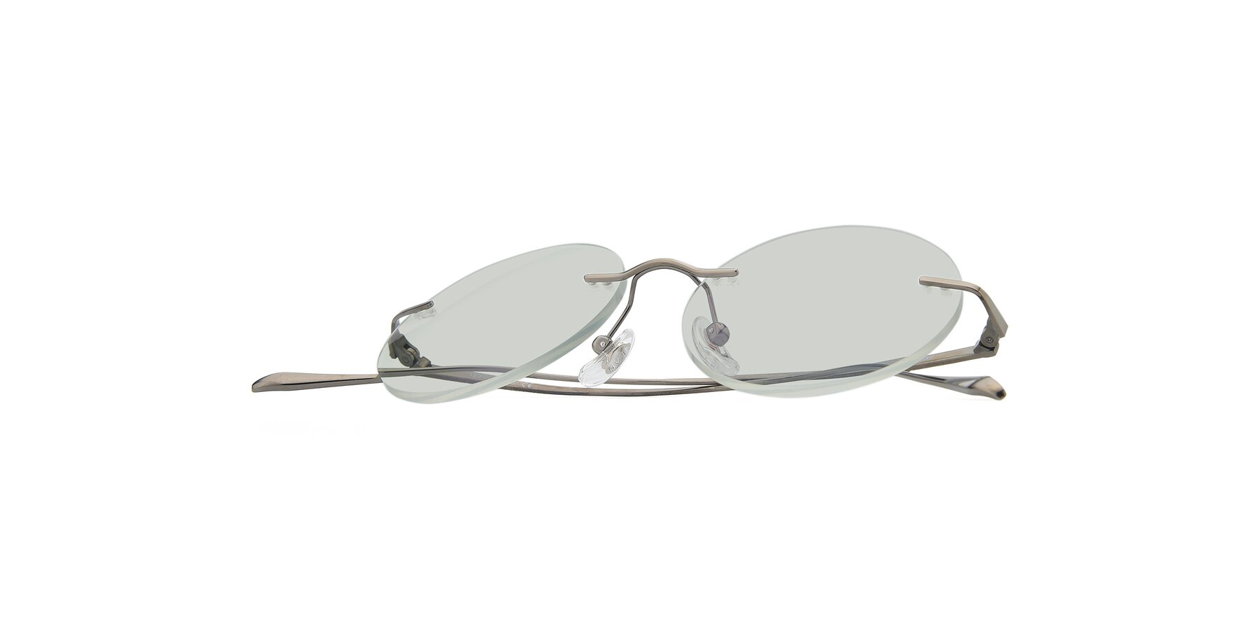 View of Sunrise in Gun with Light Green Tinted Lenses