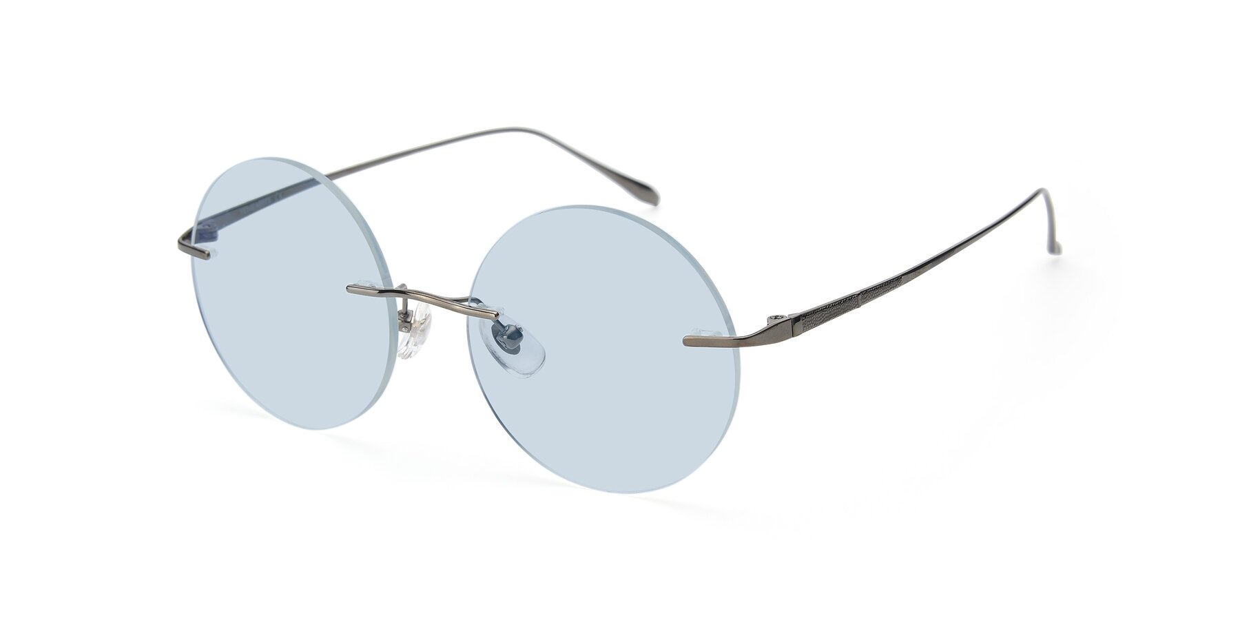 Angle of Sunrise in Gun with Light Blue Tinted Lenses