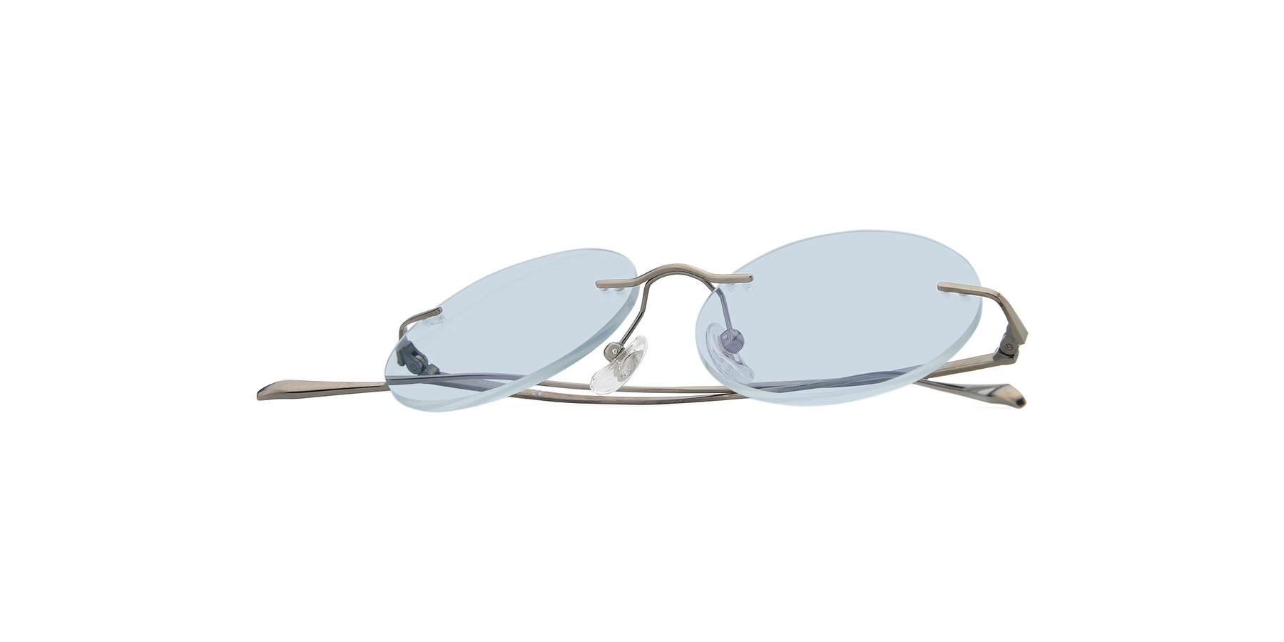View of Sunrise in Gun with Light Blue Tinted Lenses
