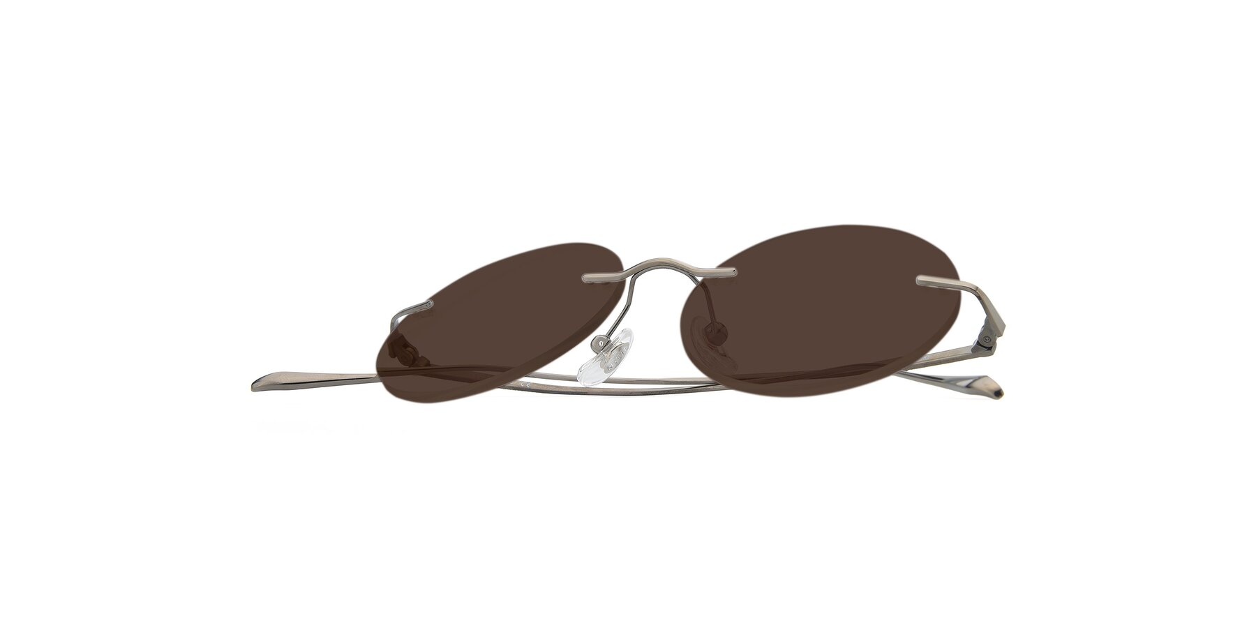 View of Sunrise in Gun with Brown Tinted Lenses