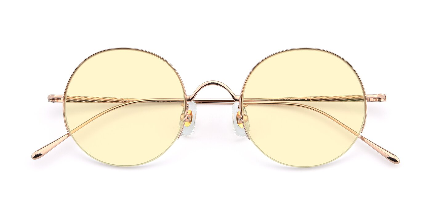 Harry - Rose Gold Tinted Sunglasses