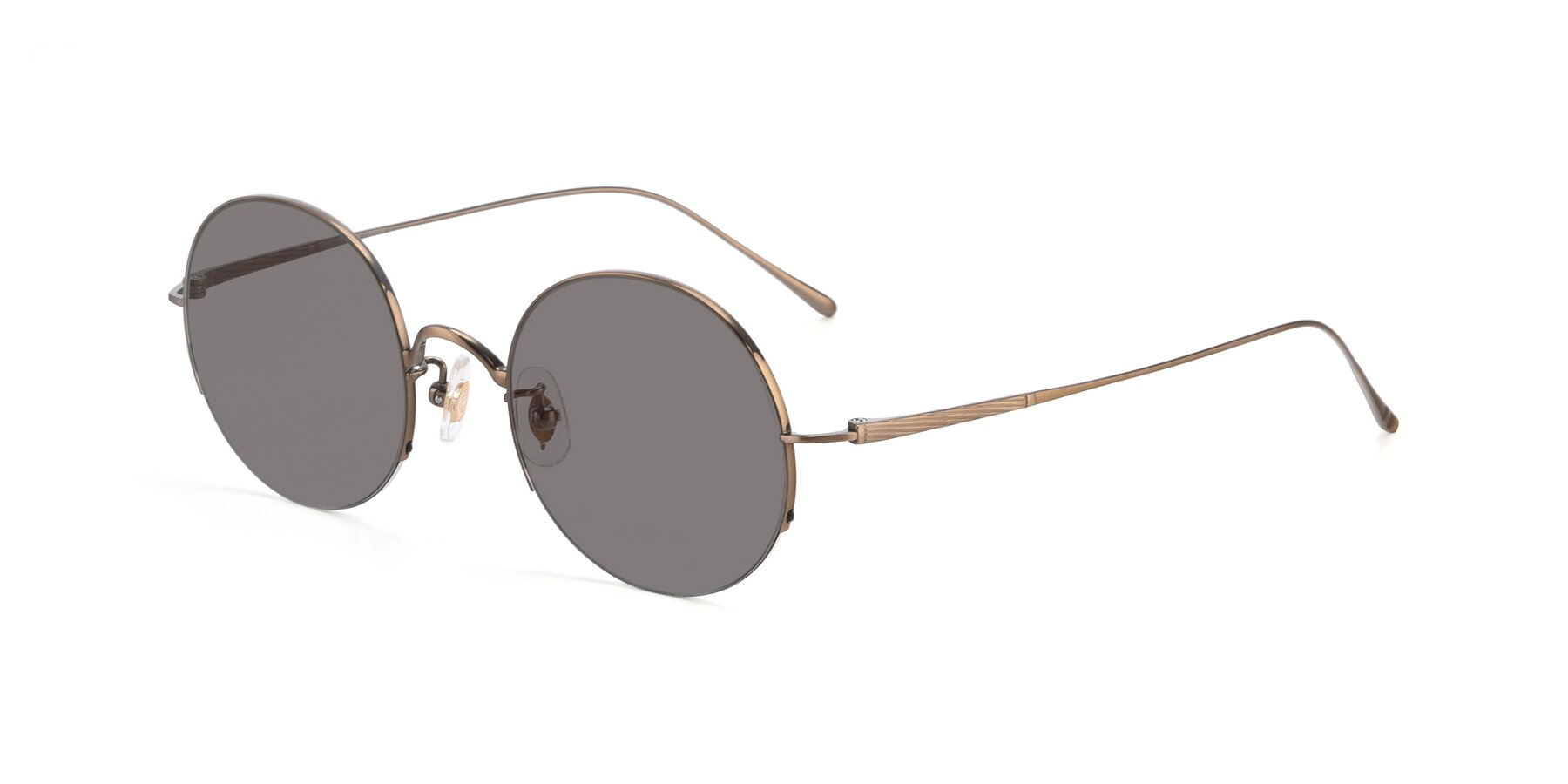 Angle of Harry in Bronze with Medium Gray Tinted Lenses