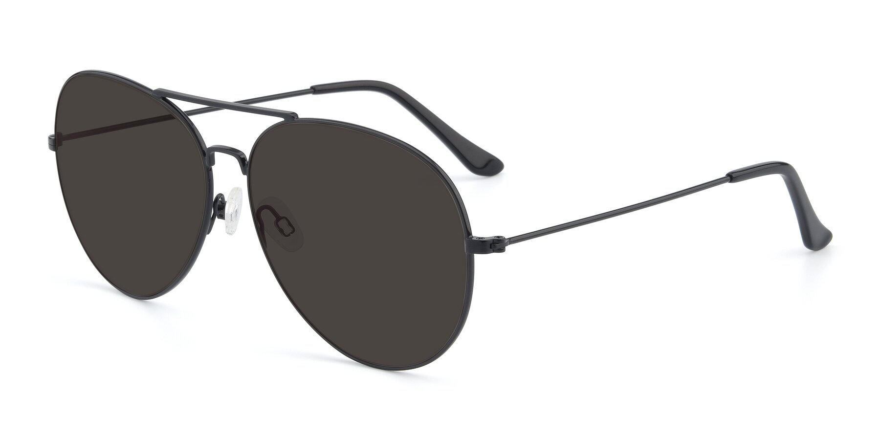Angle of Paradise in Black with Gray Tinted Lenses