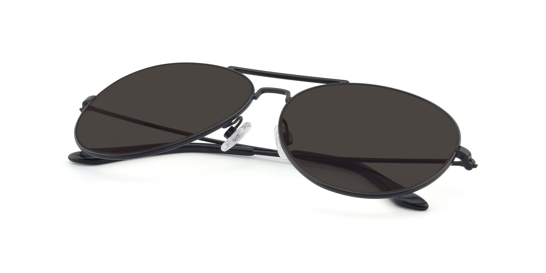View of Paradise in Black with Gray Tinted Lenses