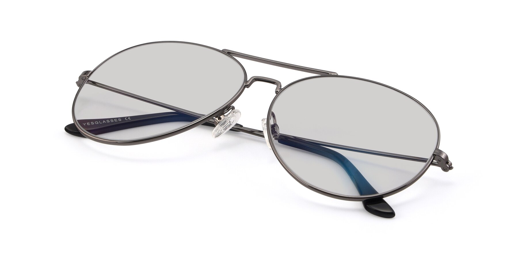 View of Paradise in Gunmetal with Light Gray Tinted Lenses