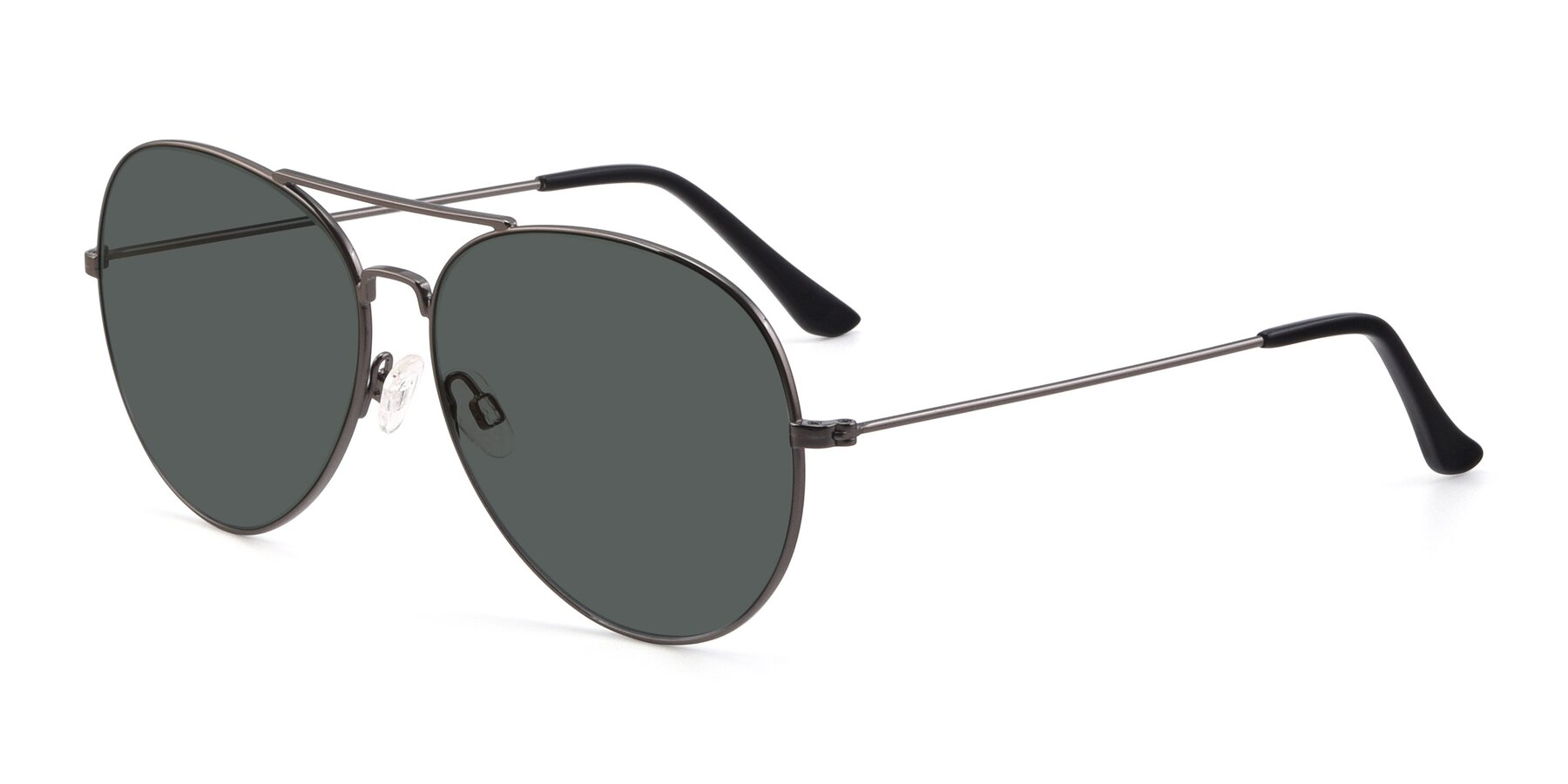 Angle of Paradise in Gunmetal with Gray Polarized Lenses