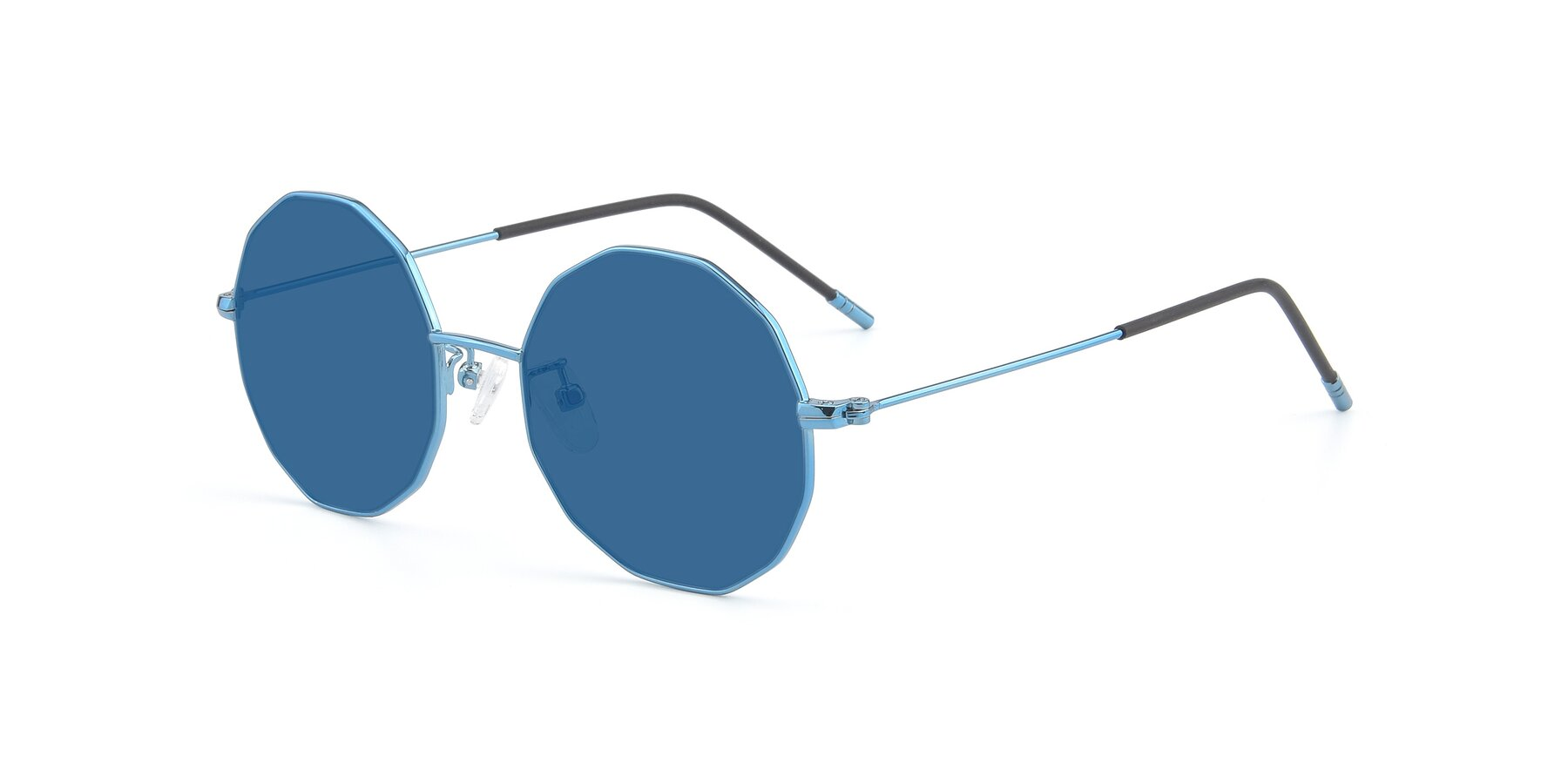 Angle of Dreamer in Blue with Blue Tinted Lenses