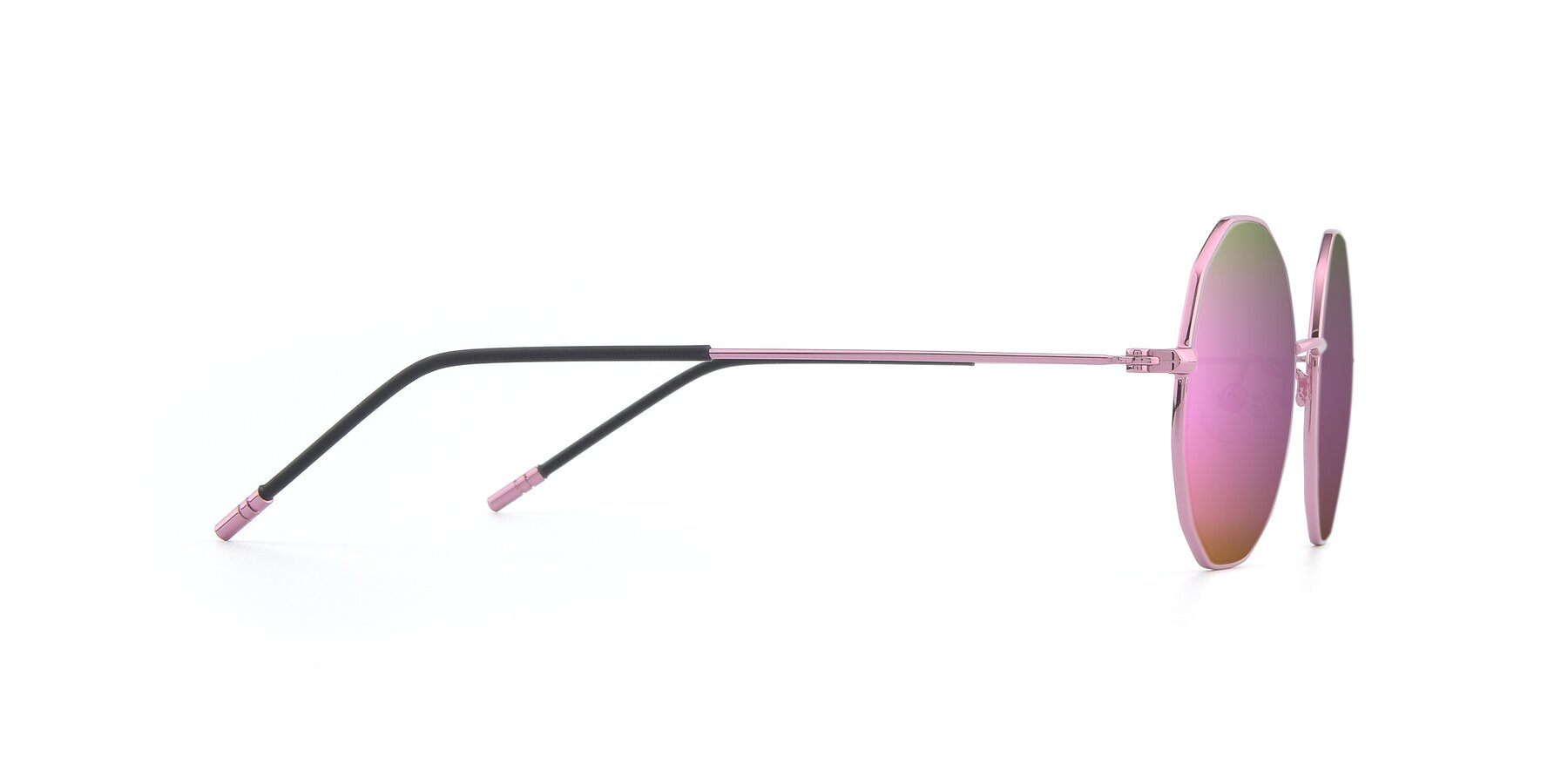Side of Dreamer in Pink with Pink Mirrored Lenses