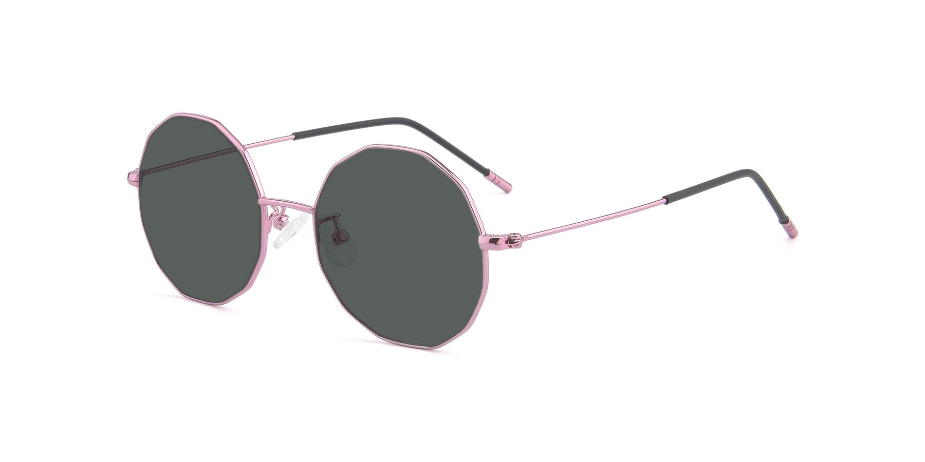 Angle of Dreamer in Pink with Gray Polarized Lenses