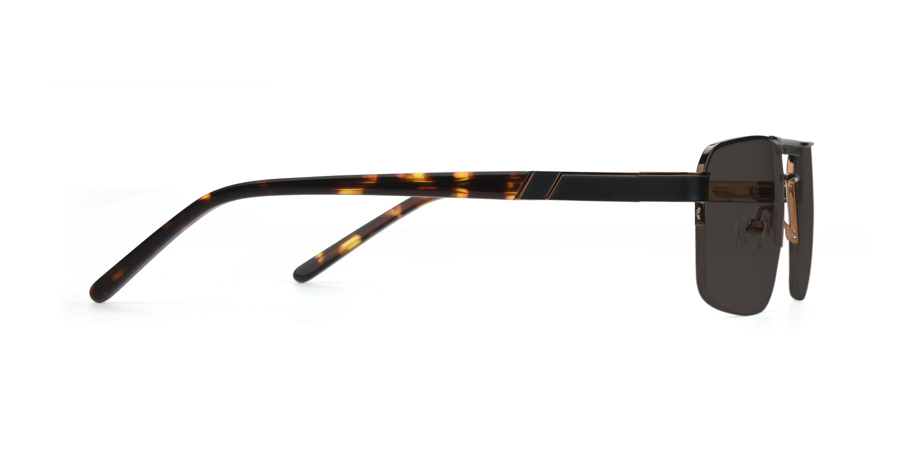 Side of 19004 in Black-Bronze with Gray Tinted Lenses