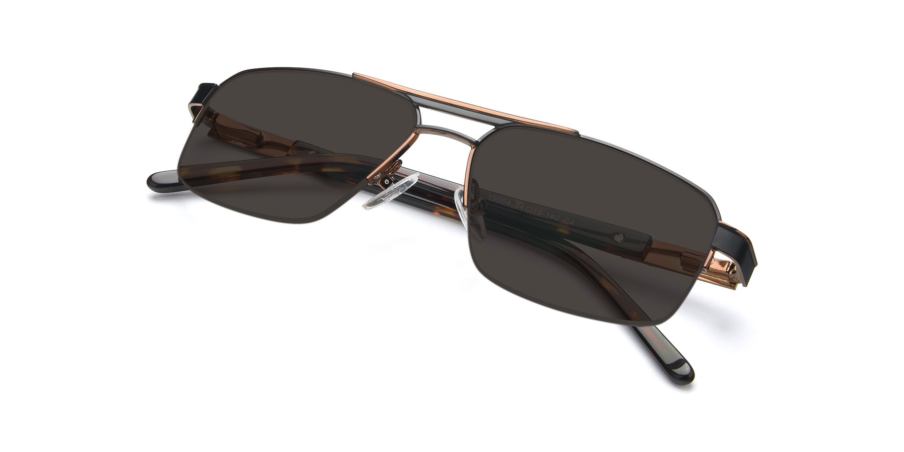 View of 19004 in Black-Bronze with Gray Tinted Lenses