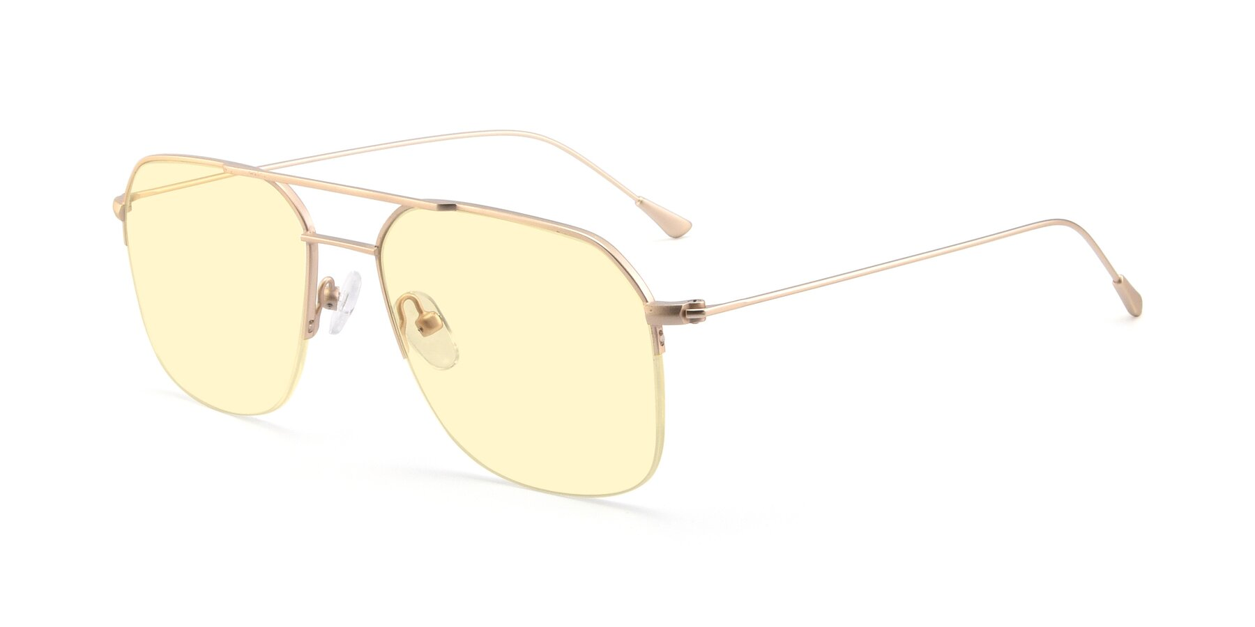 Angle of 9434 in Jet Gold with Light Yellow Tinted Lenses