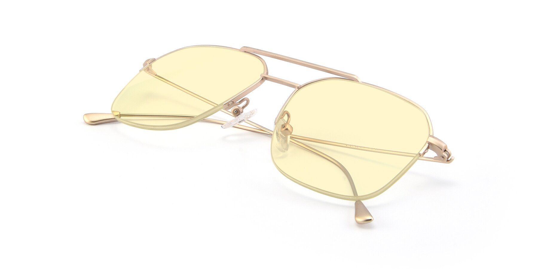 View of 9434 in Jet Gold with Light Yellow Tinted Lenses