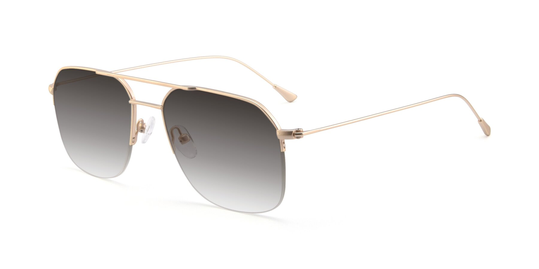 Angle of 9434 in Jet Gold with Gray Gradient Lenses